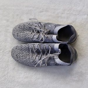 Gray sneakers size 11